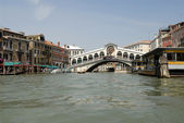 Rialto Bridge, Venice — Stock Photo