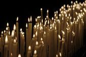 Luz de las velas — Foto de Stock