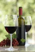 Wina Cabernet — Zdjęcie stockowe