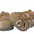 Female sports sandals - Stock Photo