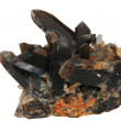 Mineral - smoky quartz - Stock Photo