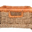 Braided basket — Stockfoto