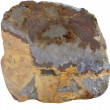 The sample about silver ore - Stock Photo