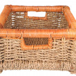 Braided basket — Stock fotografie #2135775