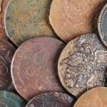 Постер, плакат: Ancient Russian coins