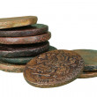 Pile of ancient coins — Stock Photo #2406198