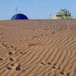 Sandy dunes - Stock Photo