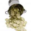 Bucket of riches — Stock Photo