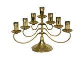 Brass candelabra — Stock Photo