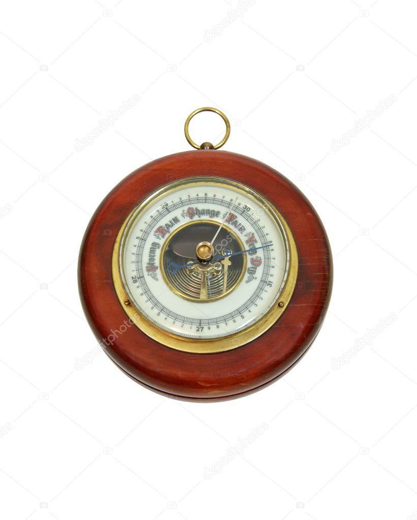 starožitný barometr — Stock Fotografie © penywise #2129365: cz.depositphotos.com/2129365/stock-photo-antique-barometer.html