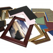 Stock Photo: Designing frame project