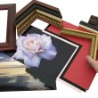 Designing frame project — Stock Photo