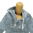 Graduate wearing hoodie — Stock Photo