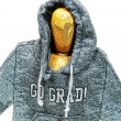 Graduate wearing grunge hoodie — Stock Photo