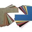 Matboard samples fanned out — Stock Photo
