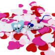 Stock Photo: Heart mice