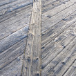 Wooden walkway pattern — Stock Photo