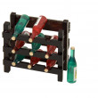 Stock Photo: Wine rack