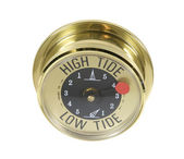 High Tide meter — Stock Photo