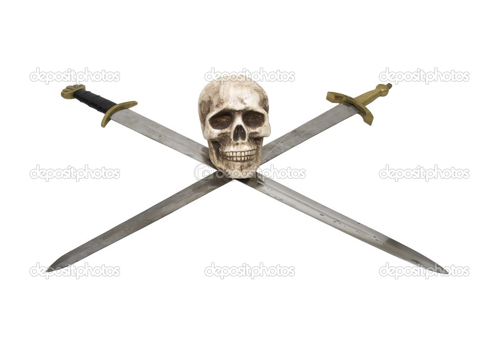 Real Crossed Swords Crossed Swords With Sturdy