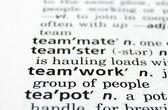 Teamwork Defined — Stock Photo