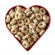 Stock Photo: Love That Toasted Oat Cereal