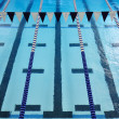 Indoor Swimming Pool Lanes - Stock Photo