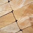 Close-up of Stacked Lumber — Stock Photo