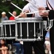 Drummers Playing Snare Drums in Parade - 