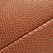 Close-up of Football Texture - Stock Photo
