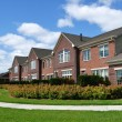 Suburban Luxury Townhomes - Stock Photo