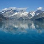 góry, Park Narodowy glacier bay — Zdjęcie stockowe