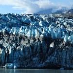 タイドウォーター lambplugh 氷河、アラスカ — ストック写真