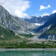 Mountains & Glacial Valley, Alaska — Stock fotografie