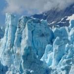 Tidewater ledovec margerie, Aljaška — Stock fotografie