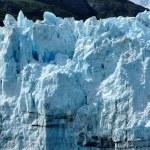Boat & Massive Margerie Glacier — Stock fotografie