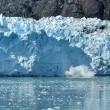 Calving, Tidewater Margerie Glacier — Stock Photo #2194243