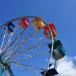 Ferris Wheel Against a Blue Sky — Stock Photo #2194779