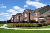 Suburban Luxury Townhomes — Stock Photo