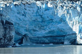 Waterfall of Tidewater Lambplugh Glacier — Stock Photo