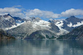 Mountains and Glaciers, Glacier Bay — Stock Photo