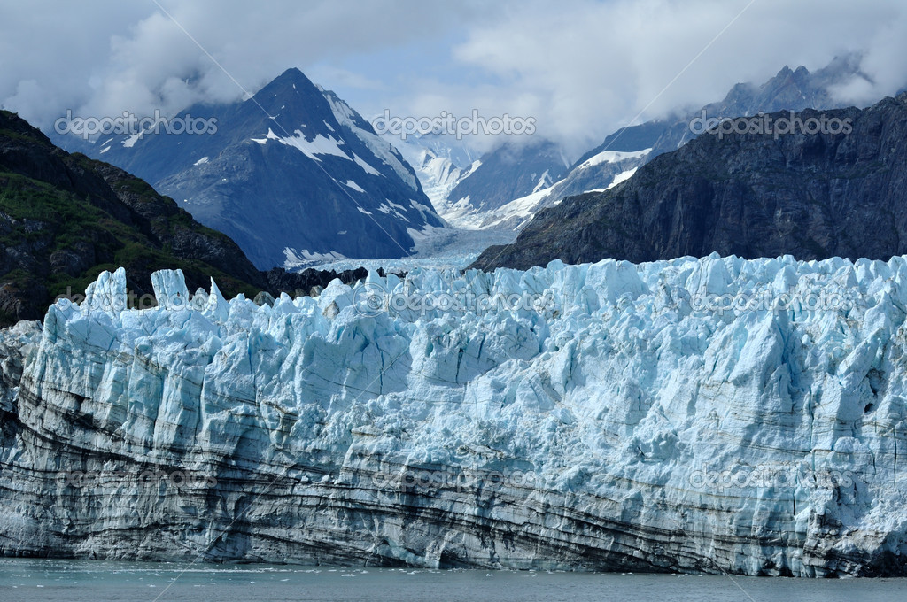 Tidewater margerie glacier alaska stock photo herreid for Do you have to buy land in alaska