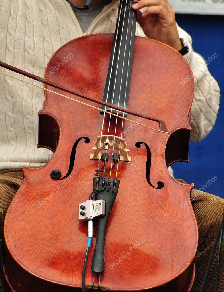 Man Playing Cello — Stock Photo © herreid #2195577