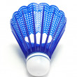 Blue Badminton Shuttlecock (Birdie) — Stock Photo