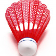 Red Badminton Shuttlecock (Birdie) — Stock Photo #2294637
