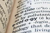 Ecology Defined — Stock Photo