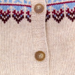 Buttons on knitted fabric 2 — Stock Photo
