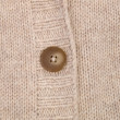Button on knitwear — Stock Photo