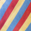Colorful striped fabric — Stock Photo