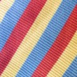 Colorful striped fabric — Stock Photo #2248156
